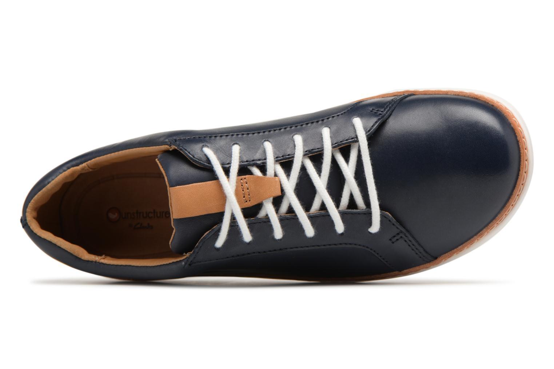 Chaussures à lacets Clarks Amberlee Rosa Bleu vue gauche