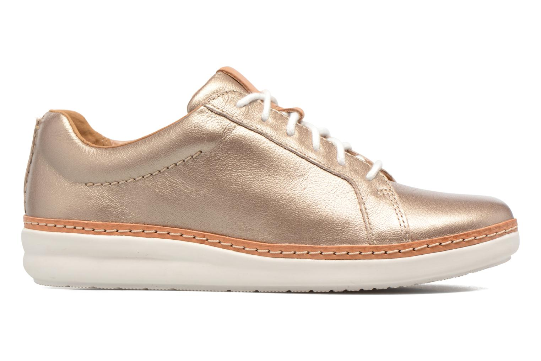 Chaussures à lacets Clarks Amberlee Rosa Or et bronze vue derrière