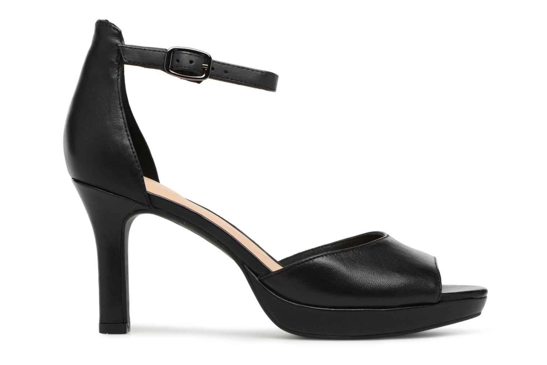 Sandales et nu-pieds Clarks Mayra Dove Noir vue derrière