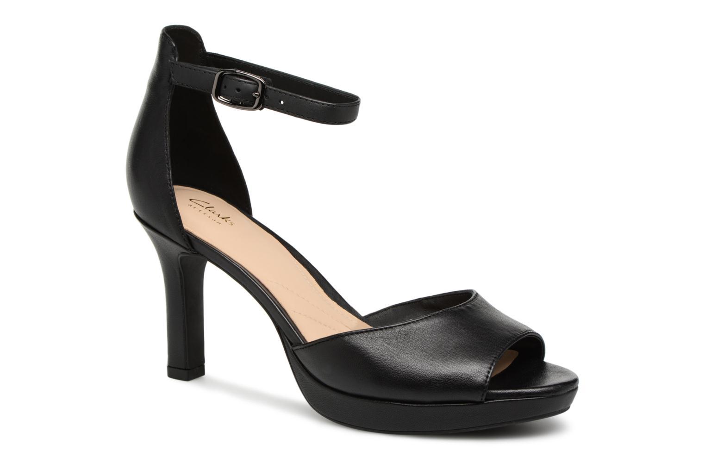 Sandales et nu-pieds Clarks Mayra Dove Noir vue détail/paire