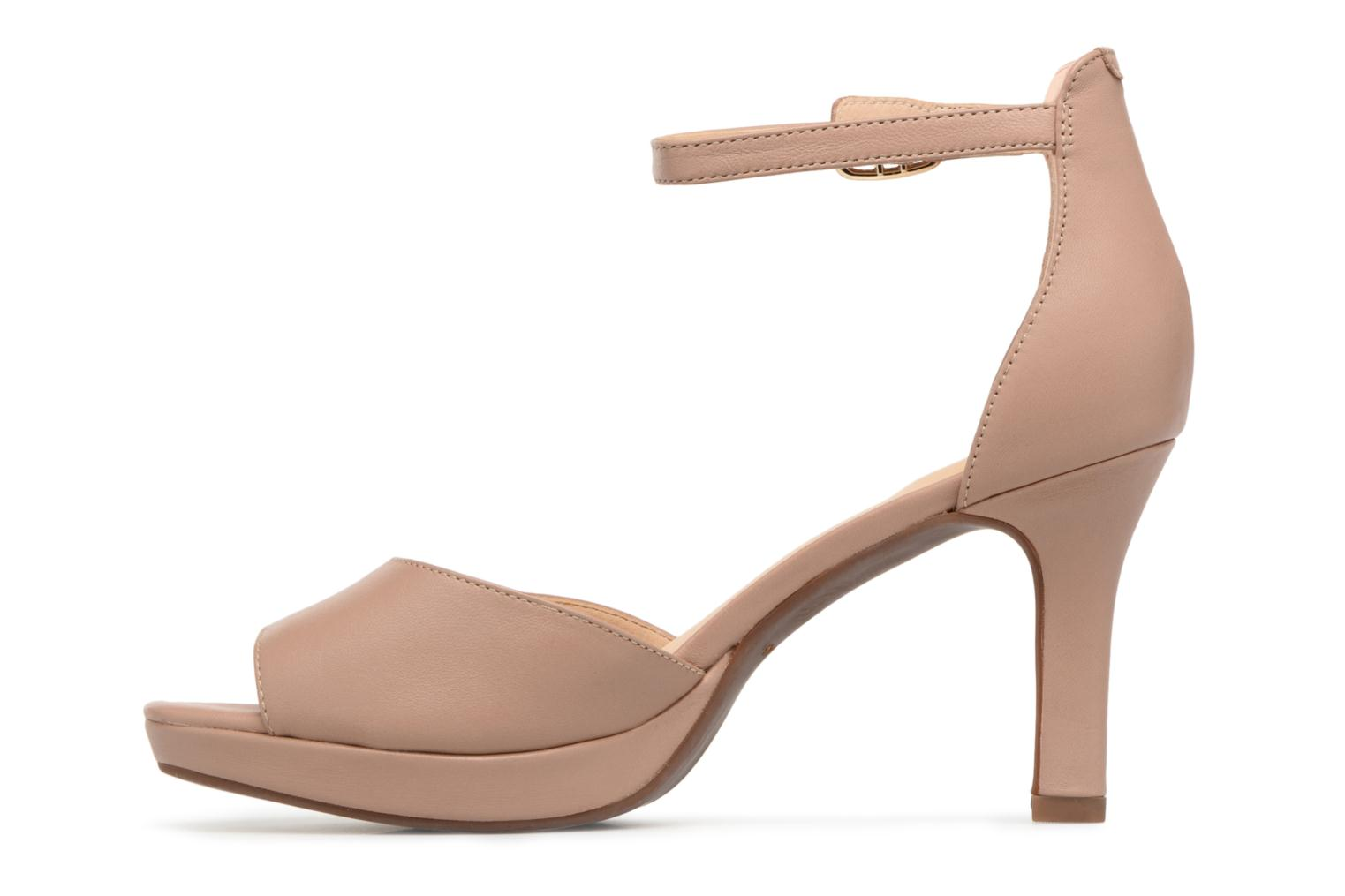 Sandals Clarks Mayra Dove Beige front view