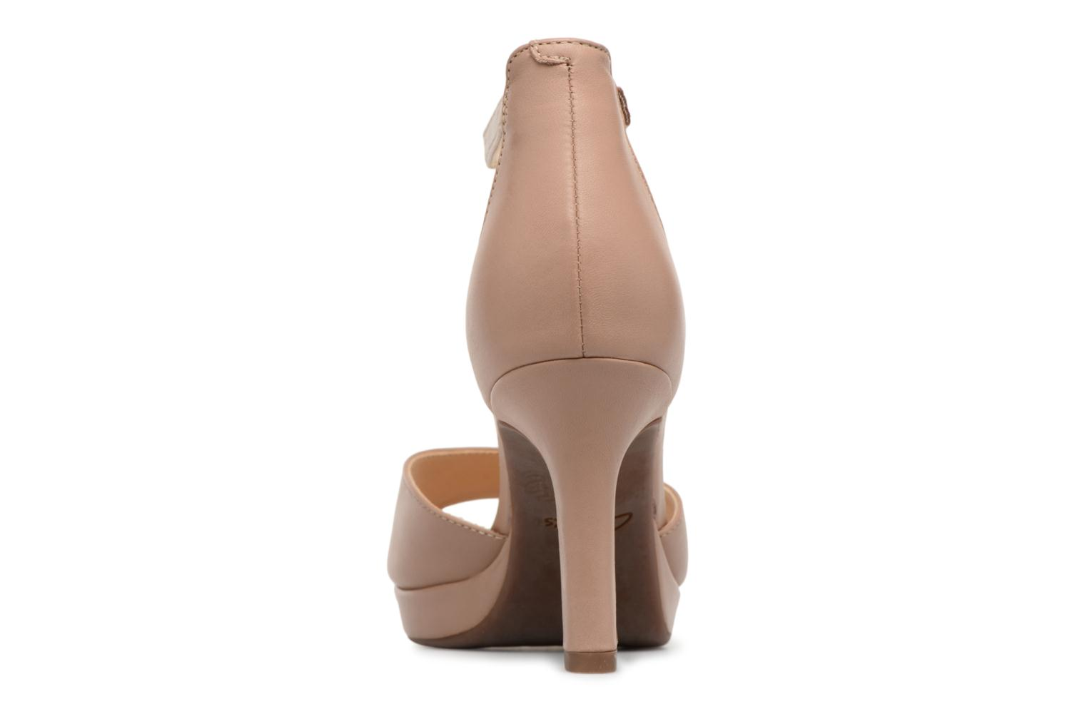 Sandals Clarks Mayra Dove Beige view from the right