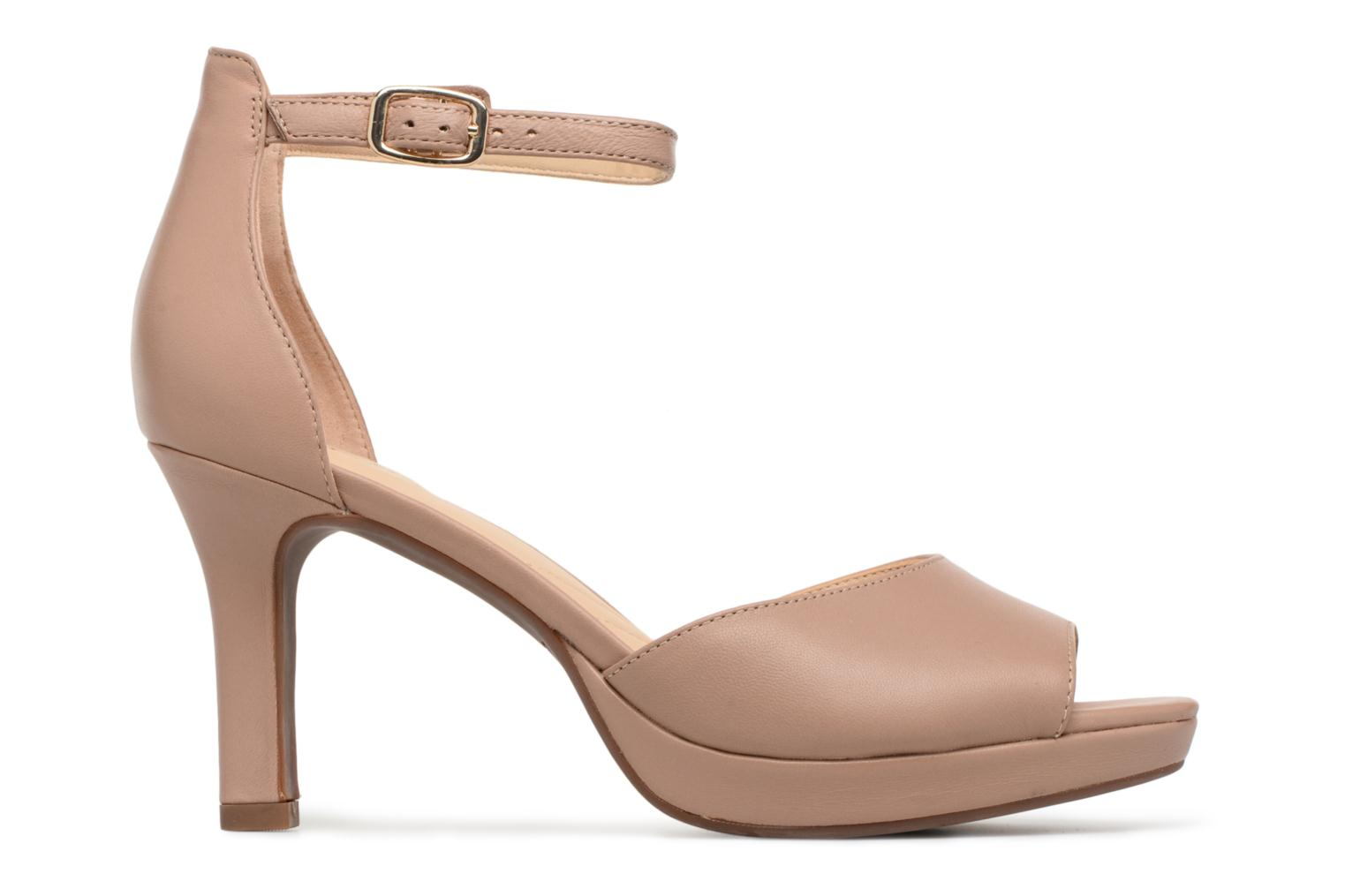 Sandals Clarks Mayra Dove Beige back view