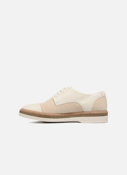 Lace-up shoes Clarks Zante Sienna White front view