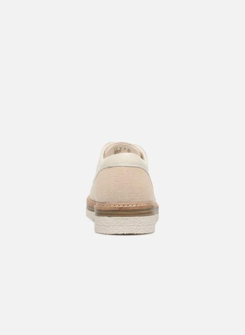 Snörade skor Clarks Zante Sienna Vit Bild från höger sidan