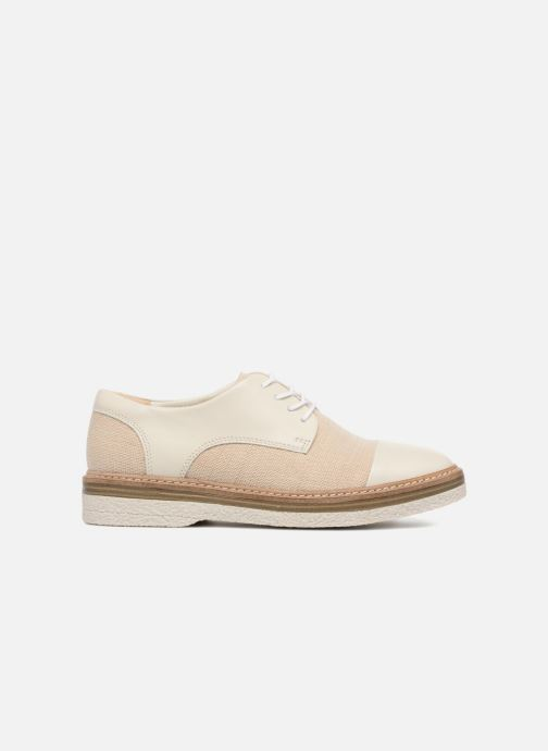 Lace-up shoes Clarks Zante Sienna White back view