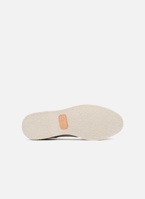 Lace-up shoes Clarks Zante Sienna White view from above