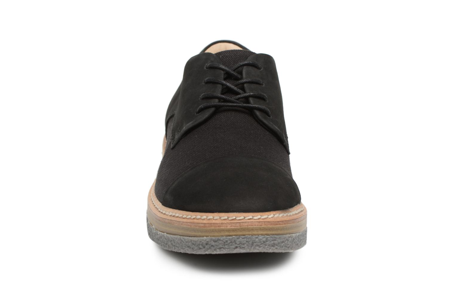 Lace-up shoes Clarks Zante Sienna Black model view