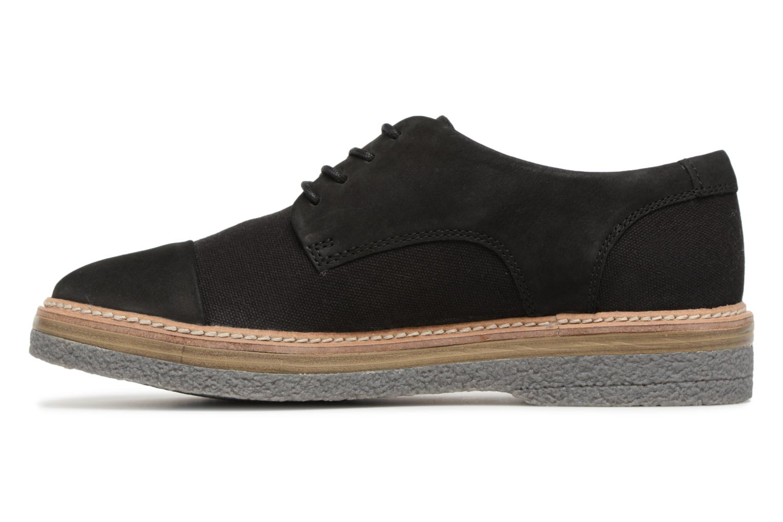 Lace-up shoes Clarks Zante Sienna Black front view