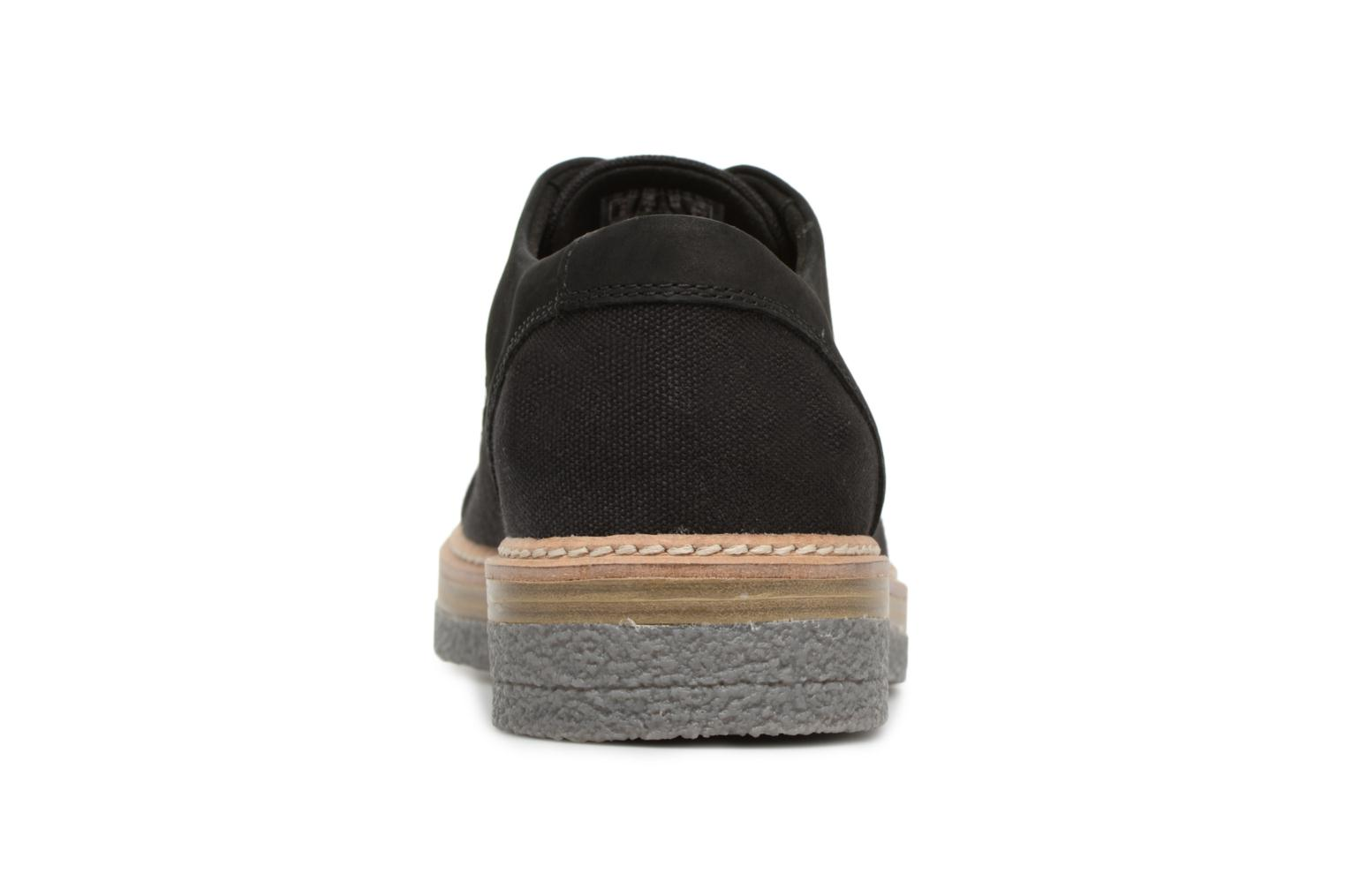 Lace-up shoes Clarks Zante Sienna Black view from the right