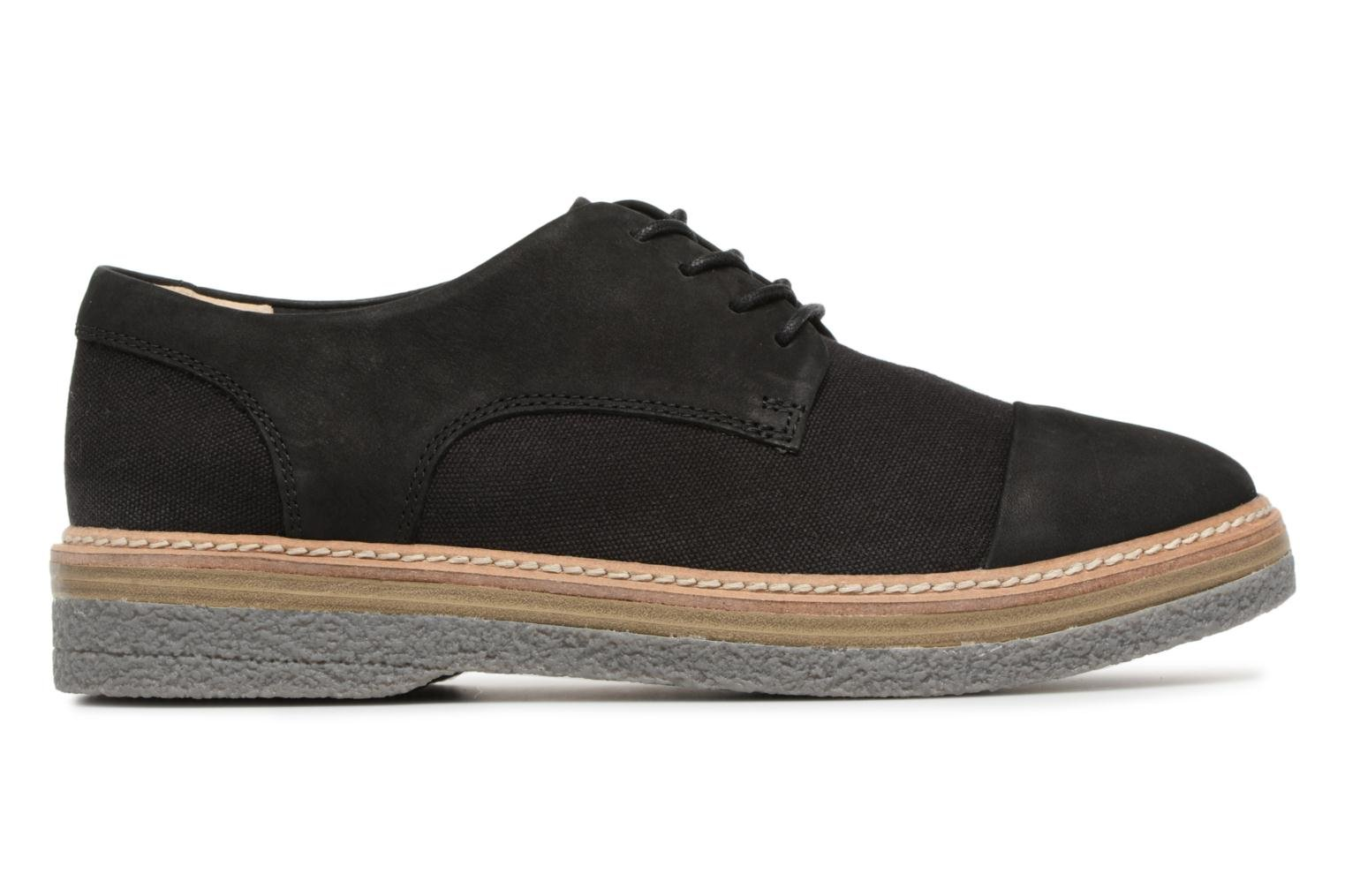 Lace-up shoes Clarks Zante Sienna Black back view