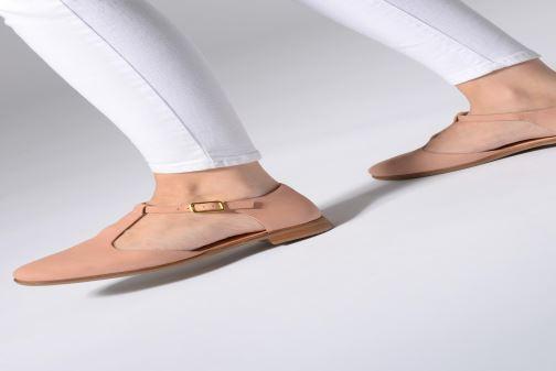 Ballerina's Clarks Alice Rosa Roze onder