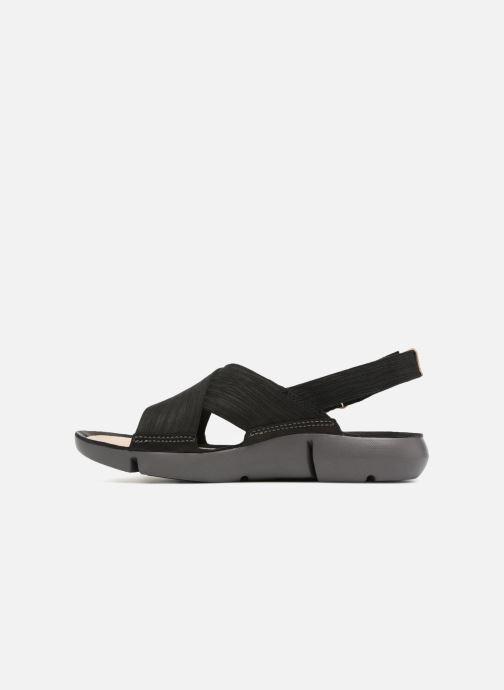 Sandales et nu-pieds Clarks Tri Chloe Noir vue face