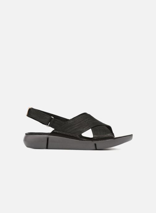 Sandales et nu-pieds Clarks Tri Chloe Noir vue derrière