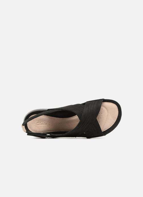 Sandales et nu-pieds Clarks Tri Chloe Noir vue gauche