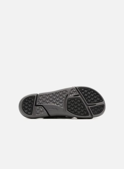 Sandales et nu-pieds Clarks Tri Chloe Noir vue haut