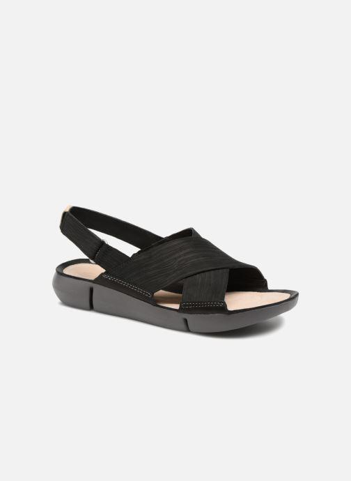 Sandaler Clarks Tri Chloe Sort detaljeret billede af skoene