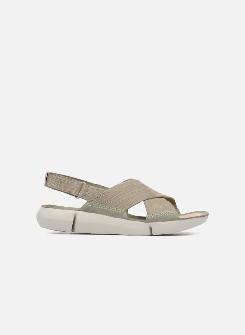 Sandali e scarpe aperte Clarks Tri Chloe Verde immagine posteriore
