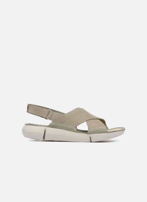 Sandales et nu-pieds Clarks Tri Chloe Vert vue derrière