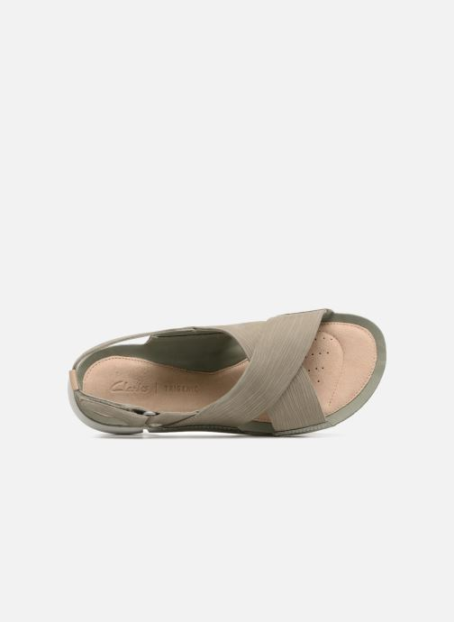 Sandali e scarpe aperte Clarks Tri Chloe Verde immagine sinistra