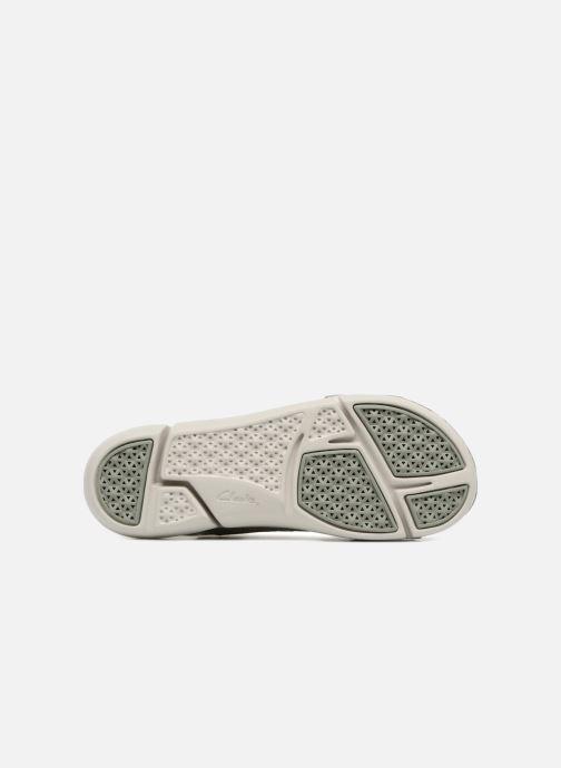 Sandales et nu-pieds Clarks Tri Chloe Vert vue haut