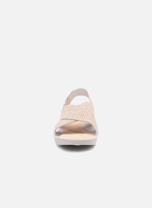 Sandaler Clarks Tri Chloe Silver bild av skorna på
