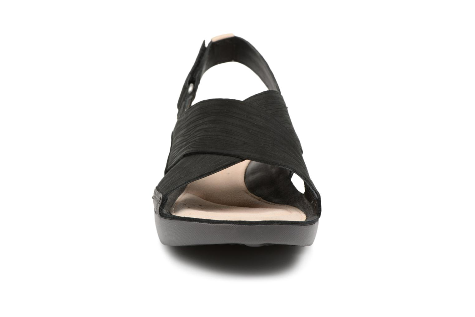 Sandals Clarks Tri Chloe Black model view