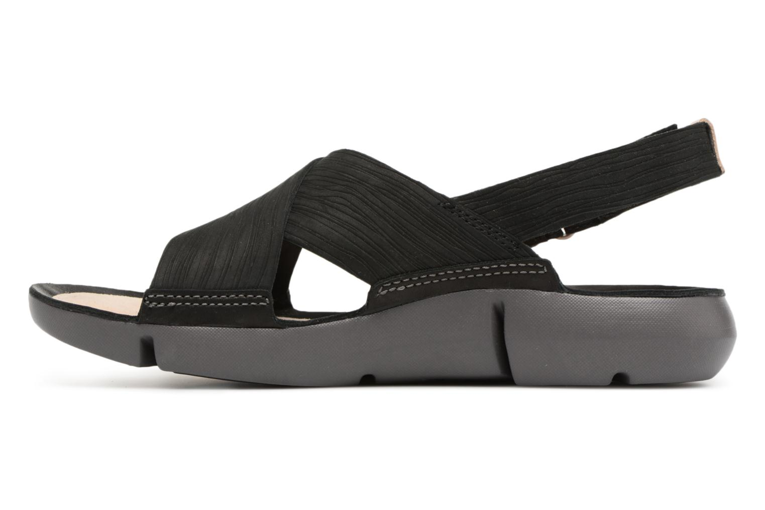 Sandals Clarks Tri Chloe Black front view