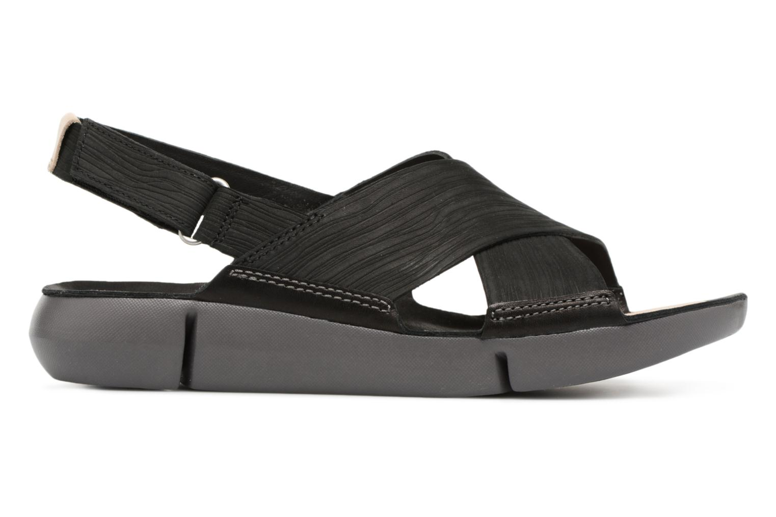 Sandals Clarks Tri Chloe Black back view