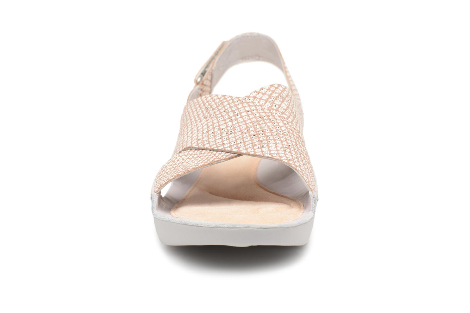 Sandals Clarks Tri Chloe Silver model view