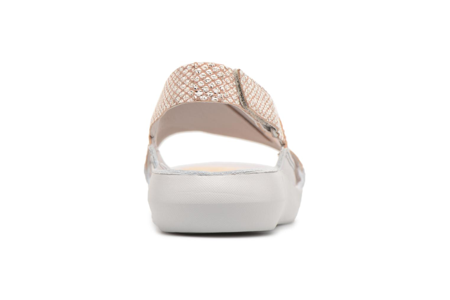 Sandals Clarks Tri Chloe Silver view from the right