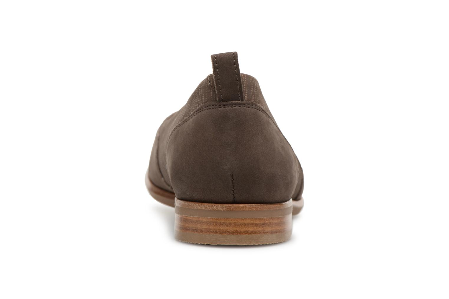Ballet pumps Clarks Alice Ivy Brown view from the right