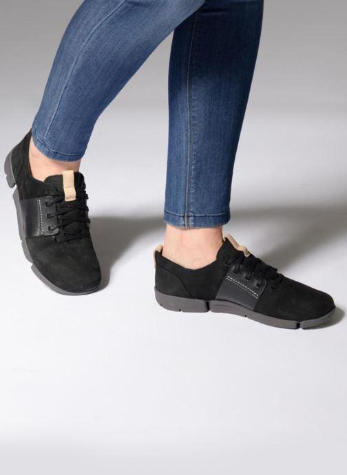 Sneakers Clarks Tri Caitlin Nero immagine dal basso