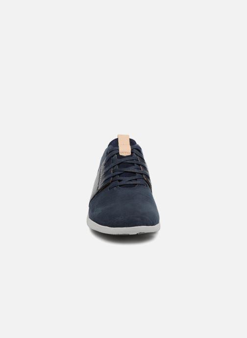 Baskets Clarks Tri Caitlin Bleu vue portées chaussures