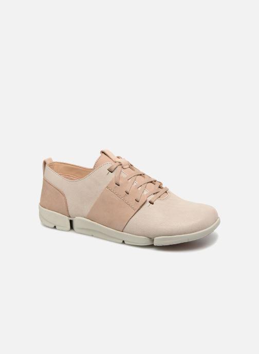Sneaker Caitlin beige Clarks 327273 Tri xBaqY0g0