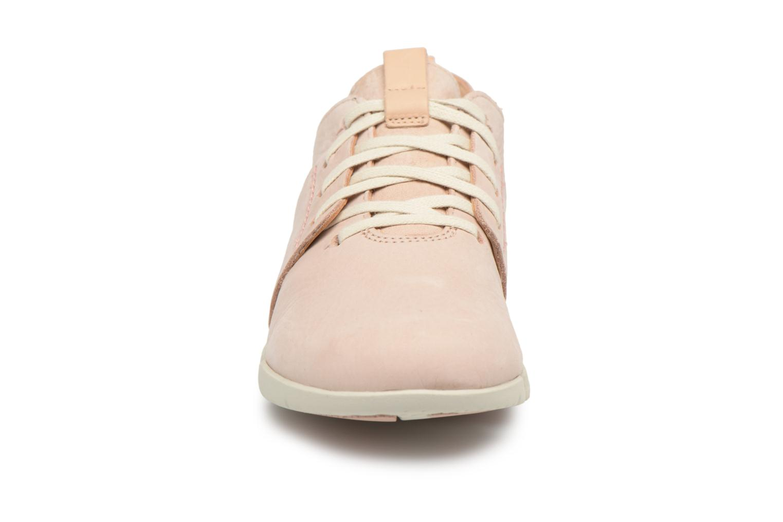 Trainers Clarks Tri Caitlin Beige model view