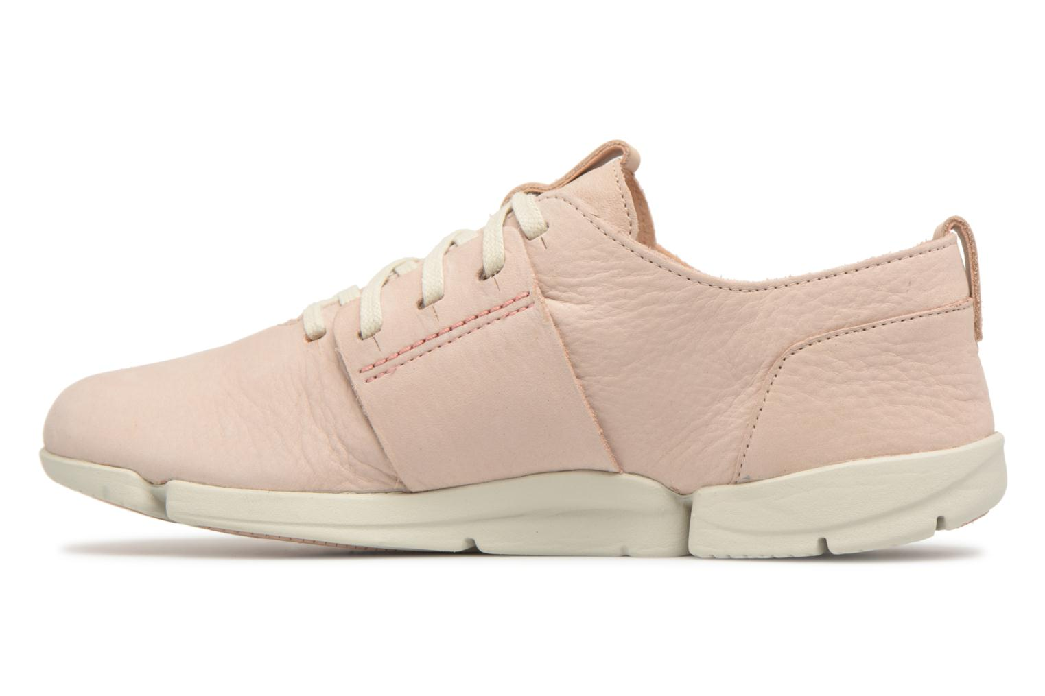 Trainers Clarks Tri Caitlin Beige front view