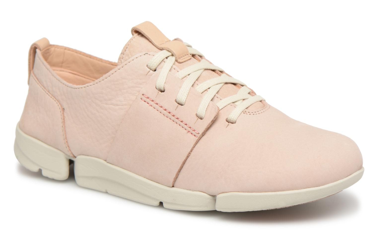 Trainers Clarks Tri Caitlin Beige detailed view/ Pair view