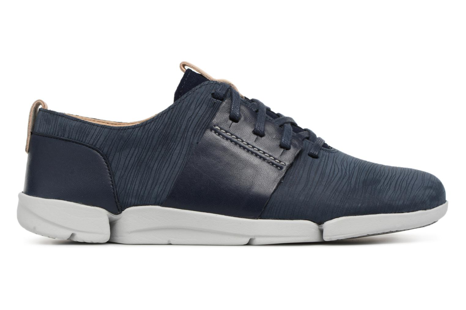 Trainers Clarks Tri Caitlin Blue back view