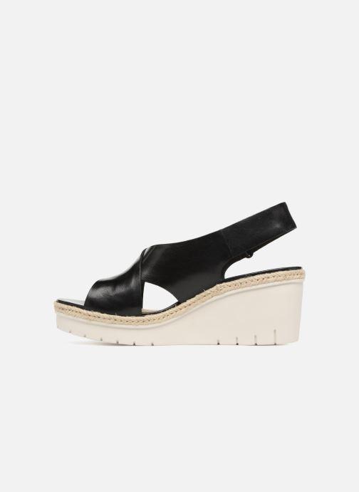 Et Black Nu Glow pieds Clarks Sandales Palm Leather HIE9D2