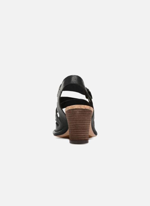 Sandales et nu-pieds Clarks Spiced Ava Noir vue droite