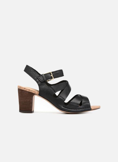 Sandales et nu-pieds Clarks Spiced Ava Noir vue derrière