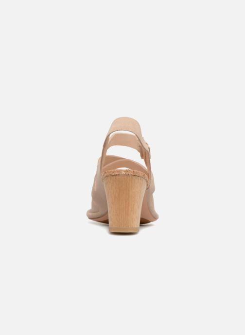 Sandales et nu-pieds Clarks Spiced Ava Beige vue droite