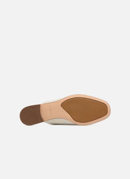 Wedges Clarks Pure Blush Wit boven