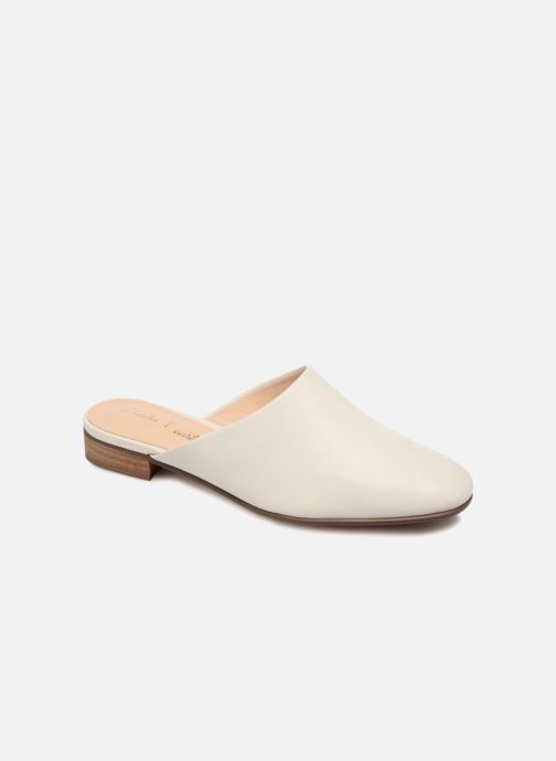 Wedges Clarks Pure Blush Wit detail