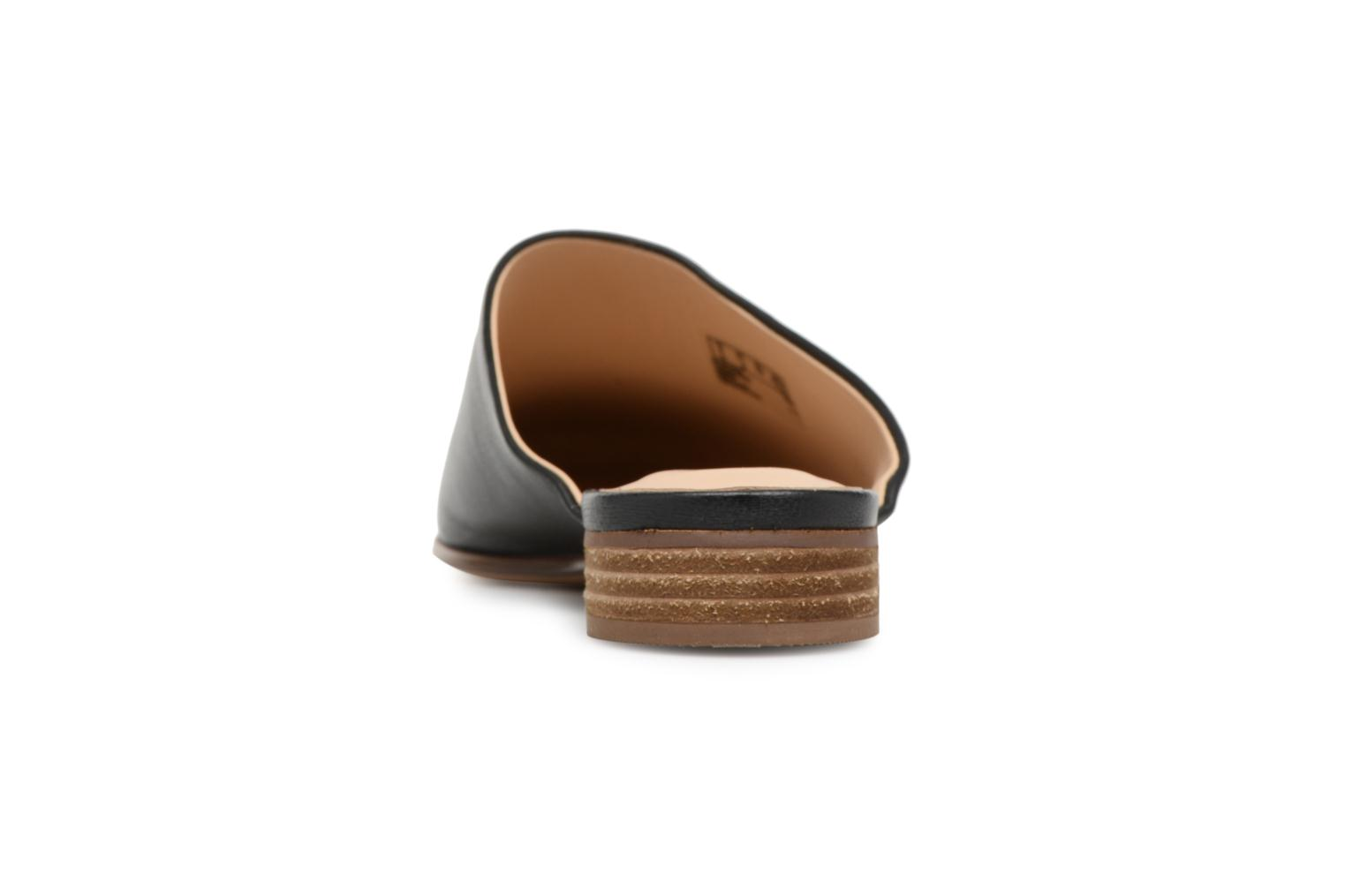 Mules & clogs Clarks Pure Blush Black view from the right