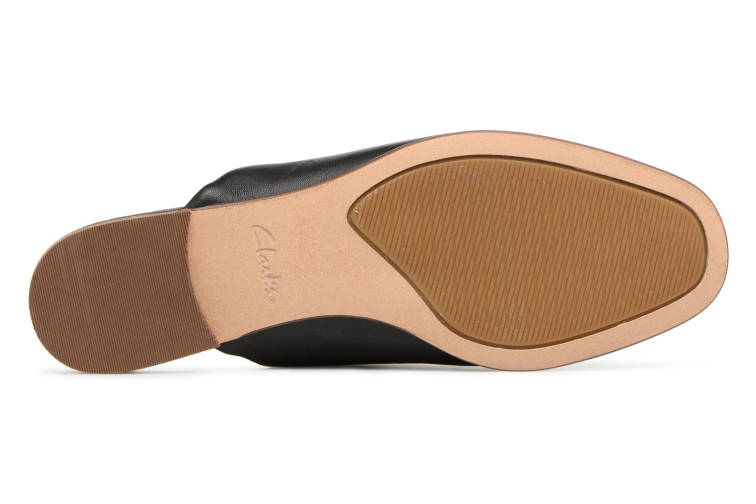 Mules & clogs Clarks Pure Blush Black view from above