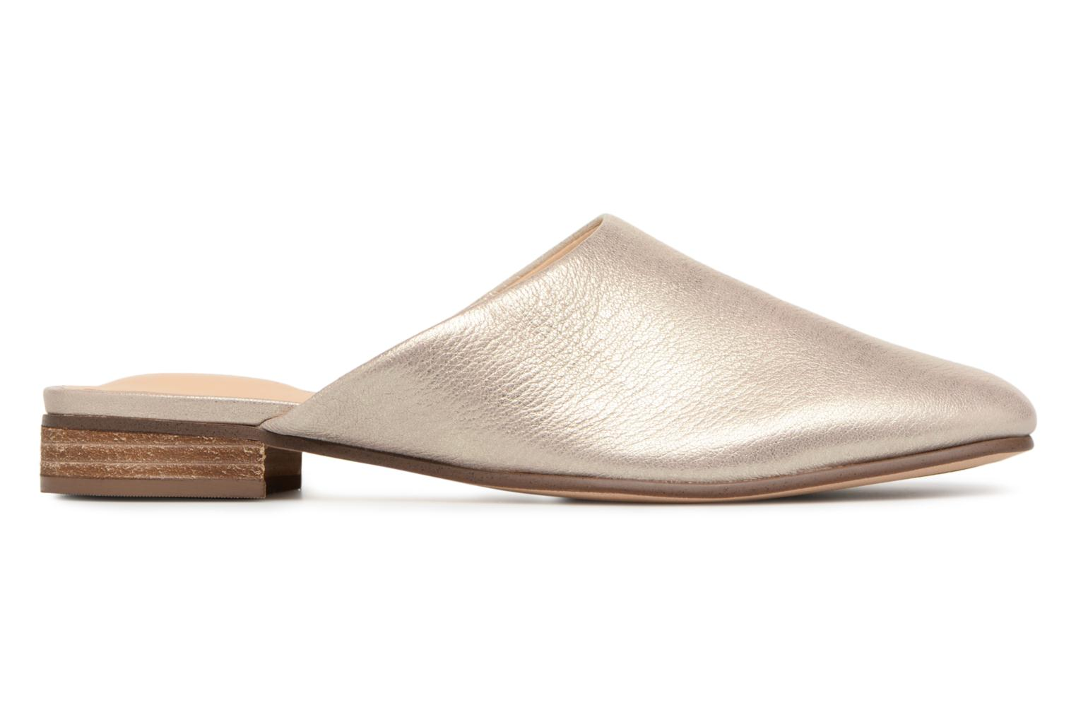 Mules & clogs Clarks Pure Blush Bronze and Gold back view