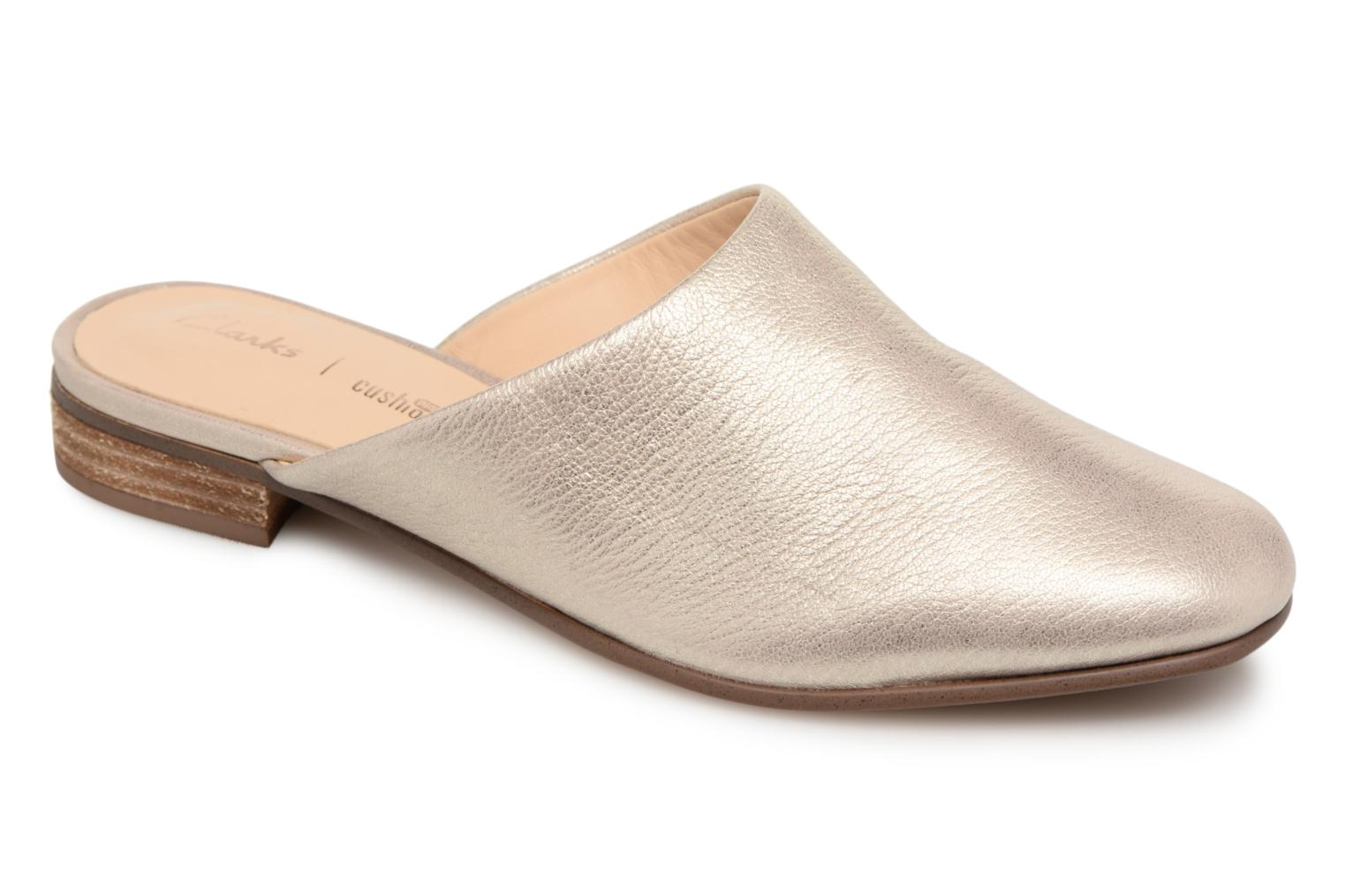 Mules & clogs Clarks Pure Blush Bronze and Gold detailed view/ Pair view