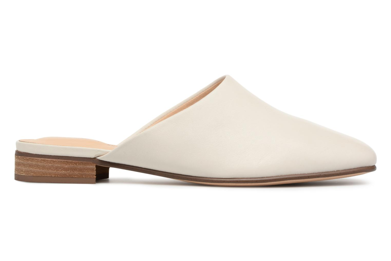 Mules & clogs Clarks Pure Blush White back view